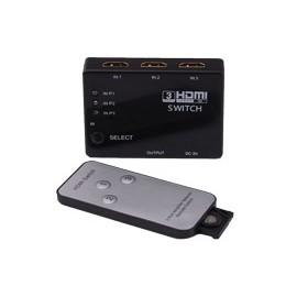 Derivador 3 HDMI a 1 Adaptador
