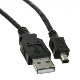 USB macho a mini USB 4 pines
