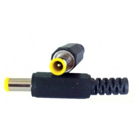 DC plug con cola 5.5x3.4x1x10mm