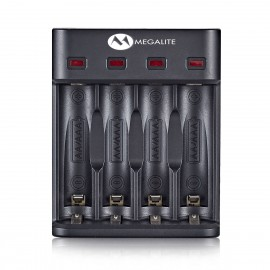 Cargador Inteligente para Baterías AA-AAA Nickel Cadmio/Metal