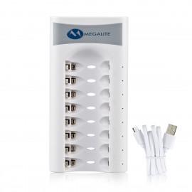 Cargador Inteligente para Baterías AA-AAA Nickel