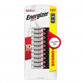 ENERGIZER ALCALINA E92 AAA BL/20