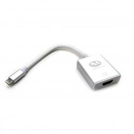 Adaptador Macho USB Tipo C a Hembra HDMI
