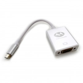 Adaptador Macho USB Tipo C a Hembra VGA