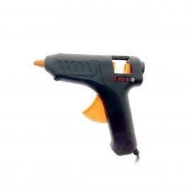 Pistola de encolar de plástico 60W.