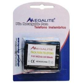 Encapsulado 3.6V 850mAh Nickel Cadmio