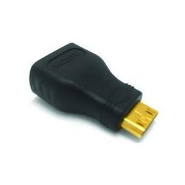 HDMI hembra a mini HDMI macho