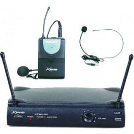 Micrófono de cabeza inalámbrico UHF