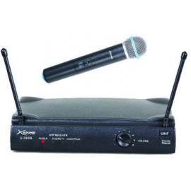Micrófono de mano inalámbrico UHF